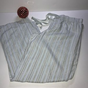 Victoria's Secret Angels Flannel Striped PJPants M